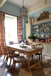 European Farmhouse Kitchen Decor Ideas 73
