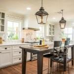 European Farmhouse Kitchen Decor Ideas 75