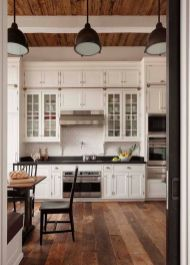 European Farmhouse Kitchen Decor Ideas 76