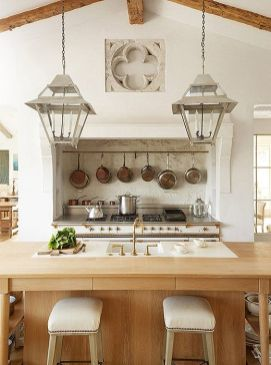 European Farmhouse Kitchen Decor Ideas 98