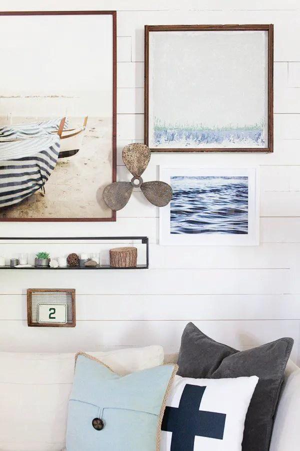 Farmhouse Gallery Wall Ideas 1