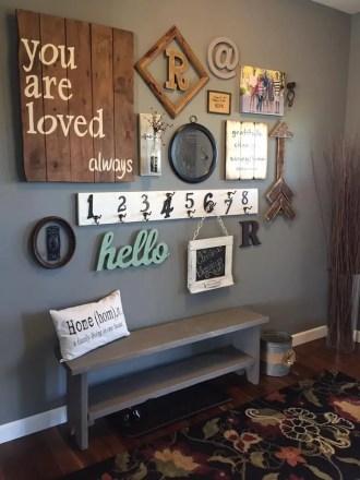 Farmhouse Gallery Wall Ideas 10