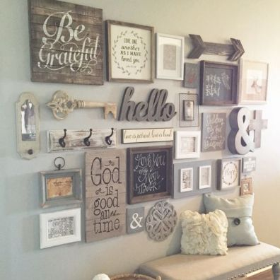 Farmhouse Gallery Wall Ideas 11