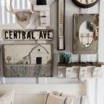 Farmhouse Gallery Wall Ideas 117