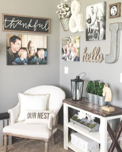 Farmhouse Gallery Wall Ideas 136