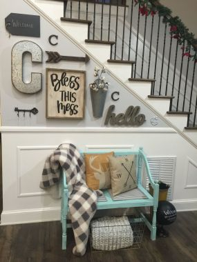 Farmhouse Gallery Wall Ideas 141