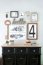 Farmhouse Gallery Wall Ideas 143