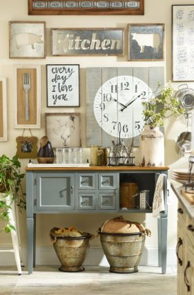 Farmhouse Gallery Wall Ideas 148