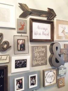 Farmhouse Gallery Wall Ideas 17