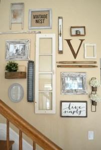 Farmhouse Gallery Wall Ideas 21