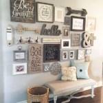 Farmhouse Gallery Wall Ideas 27