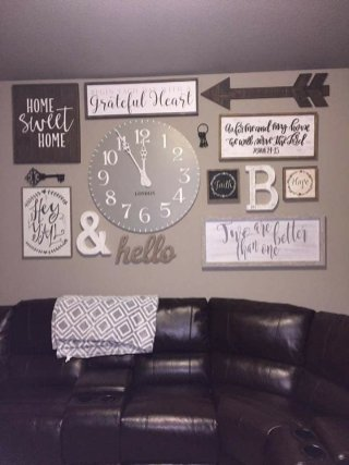 Farmhouse Gallery Wall Ideas 3