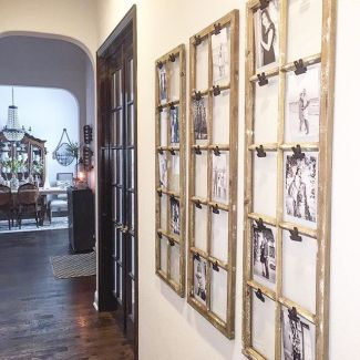 Farmhouse Gallery Wall Ideas 34