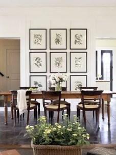 Farmhouse Gallery Wall Ideas 47