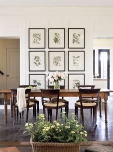 Farmhouse Gallery Wall Ideas 47