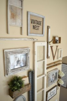 Farmhouse Gallery Wall Ideas 58