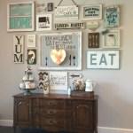 Farmhouse Gallery Wall Ideas 61
