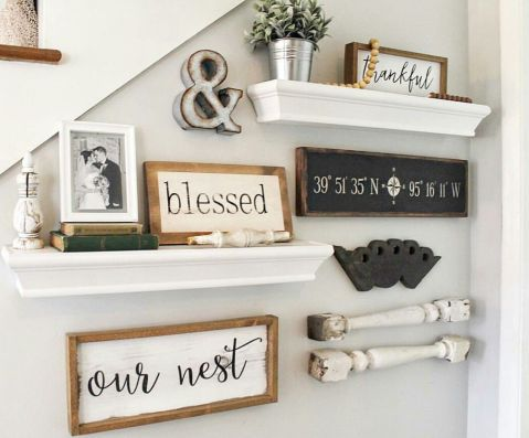Farmhouse Gallery Wall Ideas 77