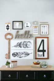 Farmhouse Gallery Wall Ideas 90