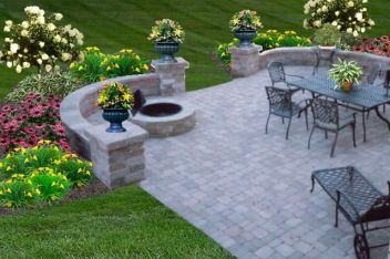 Fire Pit Seating Ideas 103
