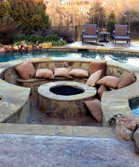 Fire Pit Seating Ideas 106