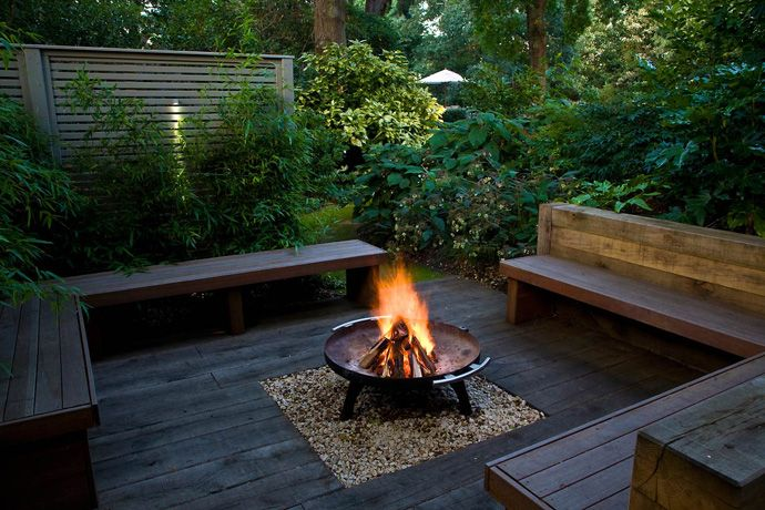 Fire Pit Seating Ideas 116