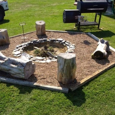 Fire Pit Seating Ideas 126