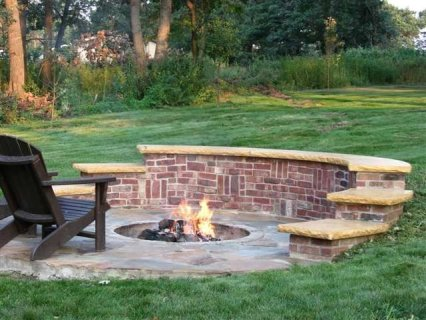 Fire Pit Seating Ideas 127