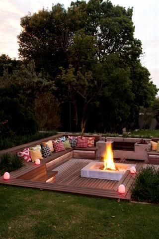 Fire Pit Seating Ideas 131