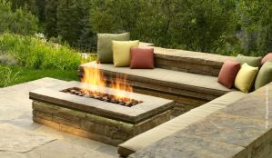 Fire Pit Seating Ideas 145
