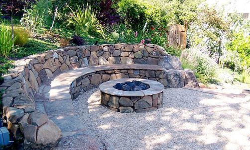 Fire Pit Seating Ideas 18