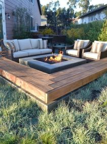 Fire Pit Seating Ideas 26