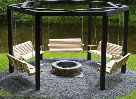 Fire Pit Seating Ideas 39