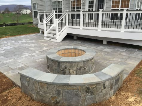 Fire Pit Seating Ideas 5