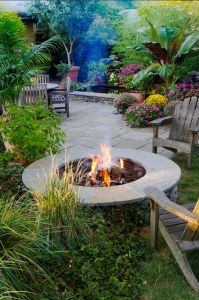 Fire Pit Seating Ideas 53