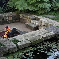 Fire Pit Seating Ideas 55