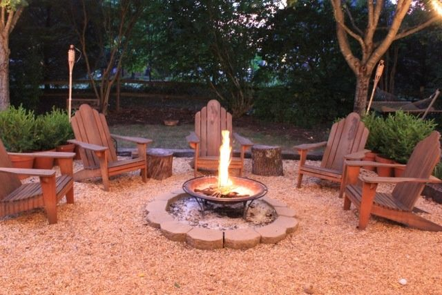 Fire Pit Seating Ideas 58