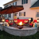 Fire Pit Seating Ideas 74
