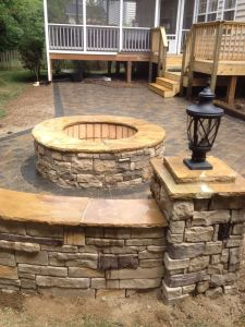 Fire Pit Seating Ideas 79