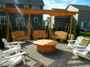 Fire Pit Seating Ideas 92