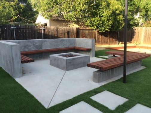 Fire Pit Seating Ideas 98
