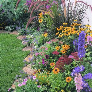 Flower Beds In Front Of House 155