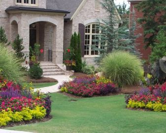 Flower Beds In Front Of House 27
