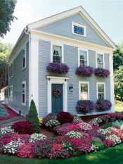 Flower Beds In Front Of House 36