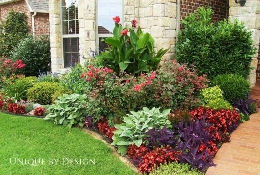 Flower Beds In Front Of House 71