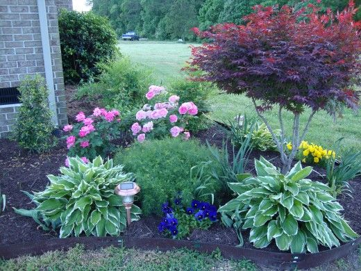 Flower Beds In Front Of House 94
