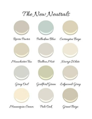 Interior Paint Colors 102