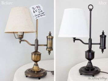 Lamp Makeover 10