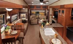 Motorhome RV Trailer Interiors 11