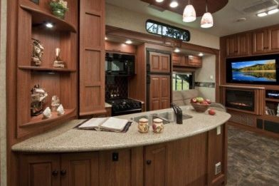 Motorhome RV Trailer Interiors 111